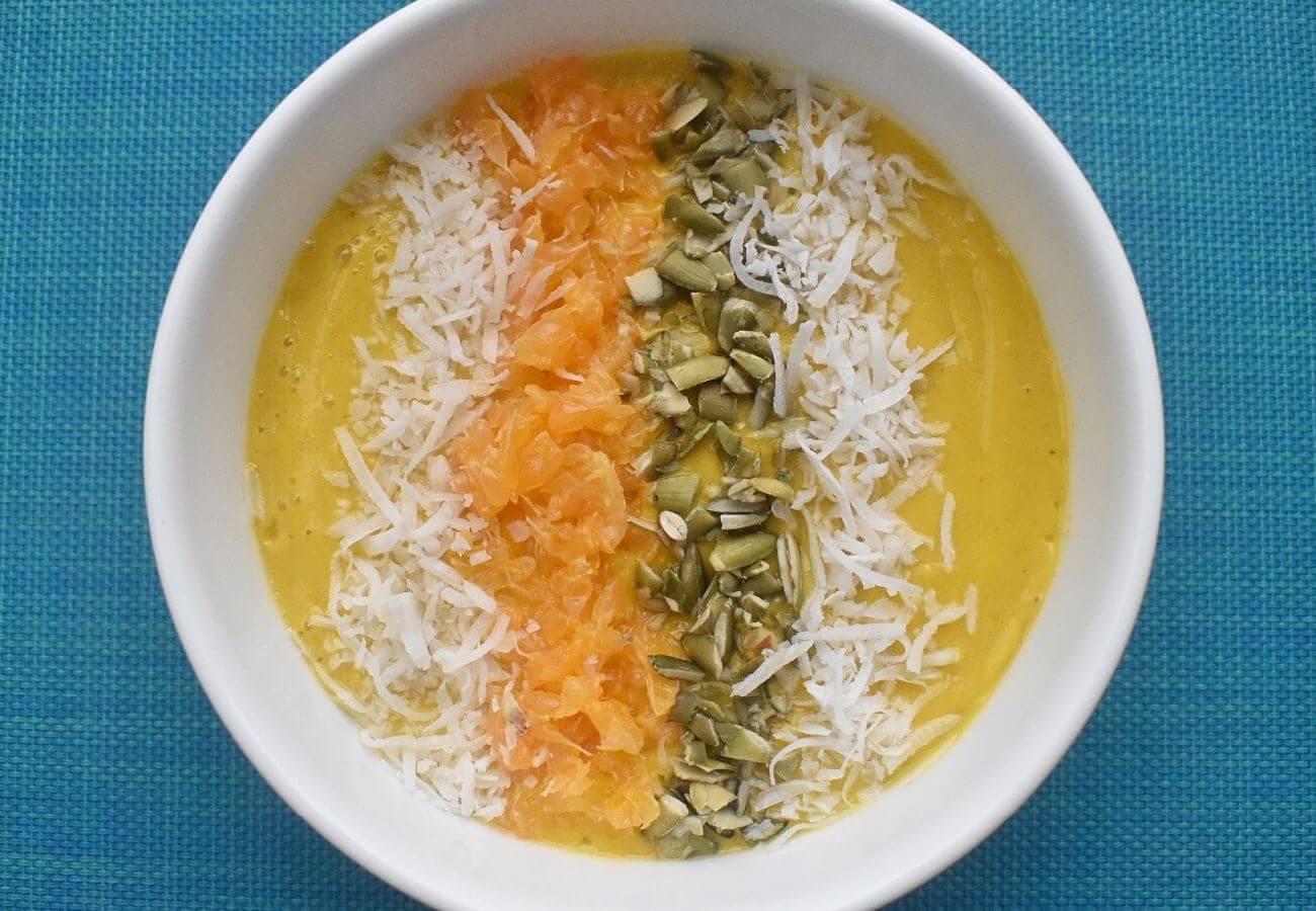 Smoothie bowl mandarina