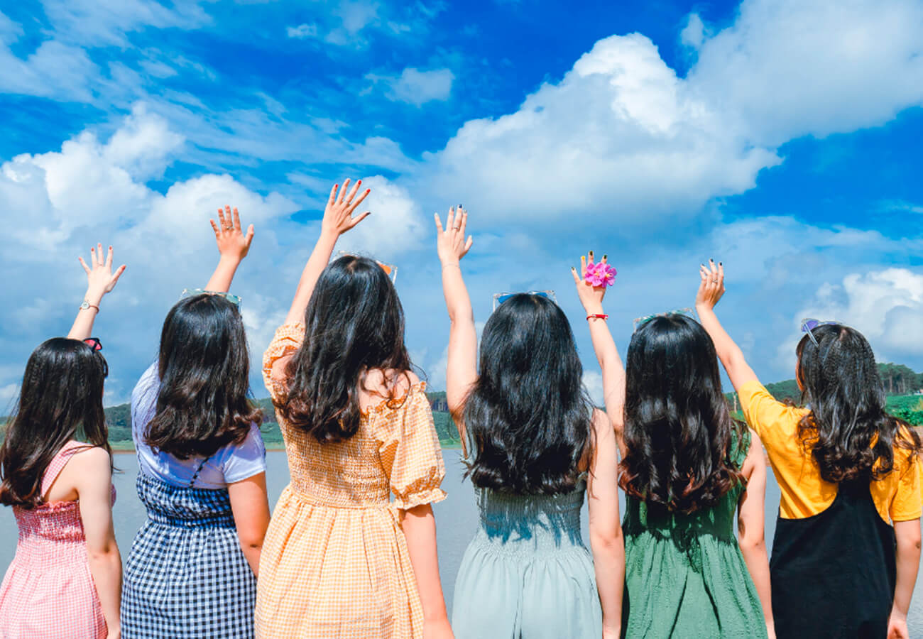 mujeres dejando #modoavión