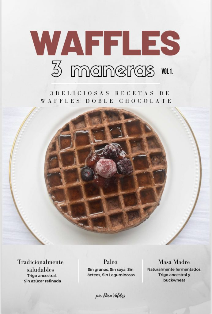 Waffles doble chocolate