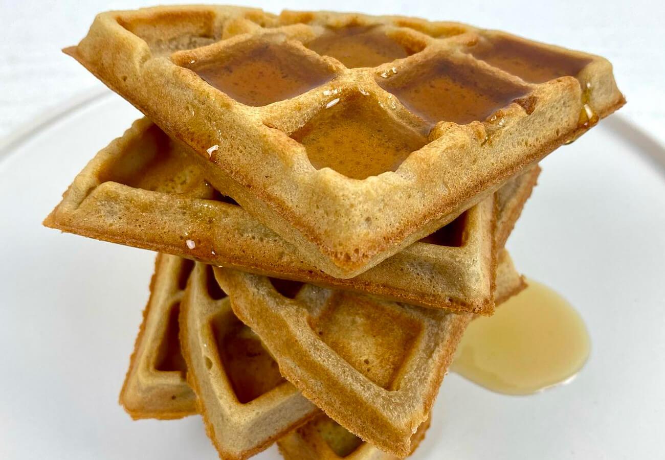 Receta Waffles De Cassava