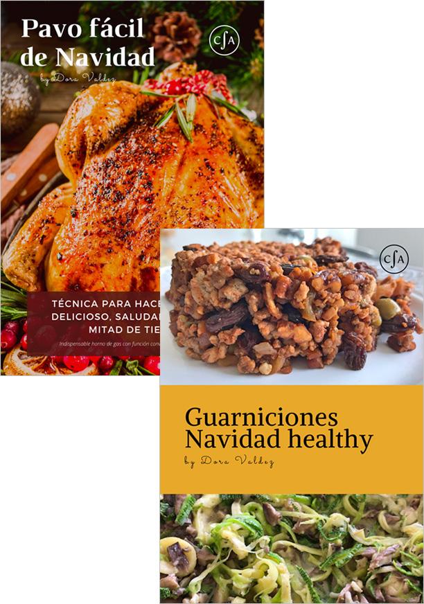 Bundle Recetarios Navidad 2019 Conexión Alimenticia